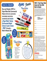 EXPO, Sharpie, Paper Mate, Ink Joy Rebates & Offers