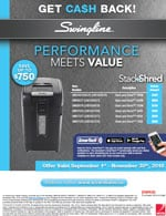 Swingline Rebates & Offers